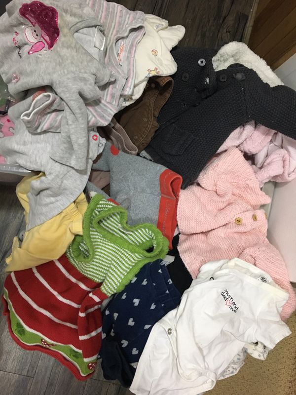 Baby Girl Clothes (good quality, many items from Germany)