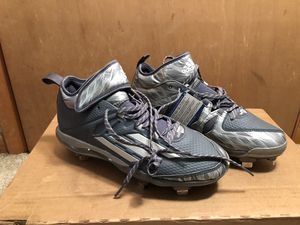 Adidas Dual Threat Litestrike Men's Baseball Clears New With Tags Size 9-1/2 for Sale in Gurnee, IL