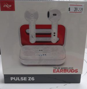 Zizo Pulse Z6 Wireless Earbuds for Sale in Charleston, WV