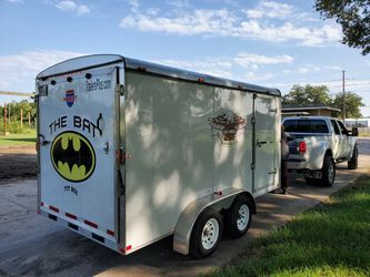 2016 Enclosed Customized Motorcycle Trailer for Sale in Missouri City,  TX