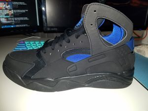 Nike Air Flight Huarache Black/Lyon Blue Shoes for Sale in Orlando, FL