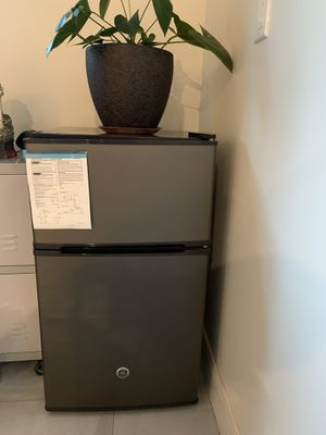 Double Door Mini Fridge Steel for Sale in Burbank, CA