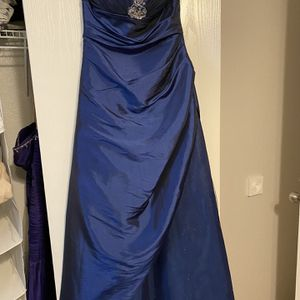 Midnight Blue Prom/formal Dress for Sale in Fort Worth, TX