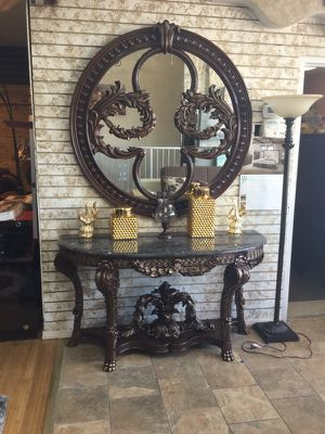 Granite top Console table for Sale in Dearborn, MI