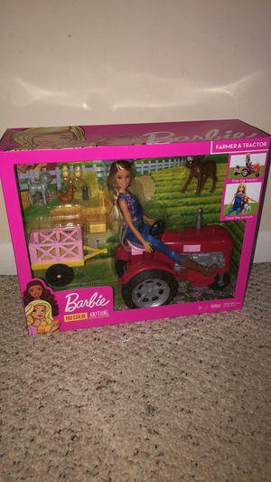 Large Barbie tractor set for Sale in Woodbridge, VA