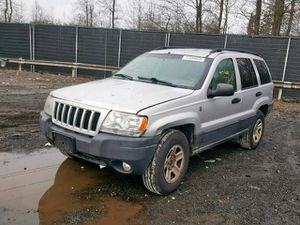 2004 JEEP GRAND CHEROKEE LAREDO 2004 JEEP GRAND CHEROKEE LAREDO 4x4 4.0L 320048 Parts only. U pull it yard cash only. for Sale in Temple Hills, MD
