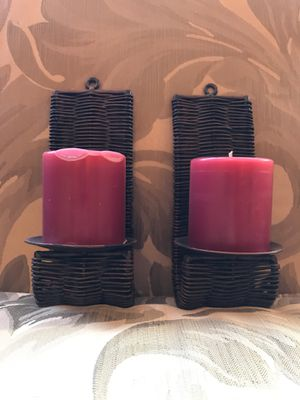 Candle/candle holder/wall decor for Sale in Gresham, OR