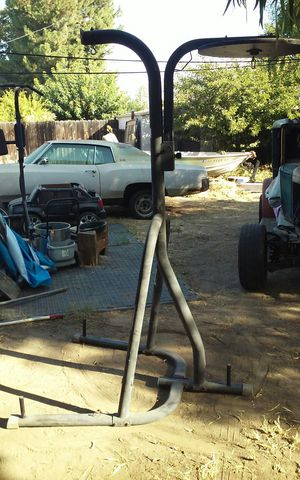 Bag frame with speed bag attachment for Sale in Clovis, CA