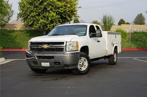 2011 Chevy 2500 Utility Truck Service Truck Extended Cab Gas / 2011 Chevrolet Silverado 2500 With a Utility Bed Service Bed Work Truck for Sale in Riverside, CA