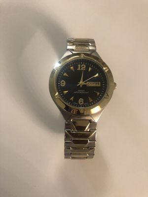 Silver Plain Jane Watch With Blue Face for Sale in Germantown, MD