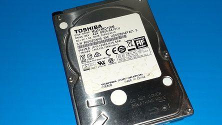 "1tb 1 Terabyte 2.5"" SATA Laptop Hard Drive USED for Sale in Suffolk,  VA"