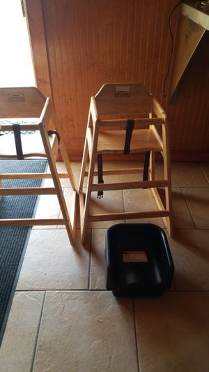 Commercial high chair and booster seat for Sale in Auburndale, FL