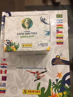 Copa America Panini álbum and box for Sale in Miami, FL