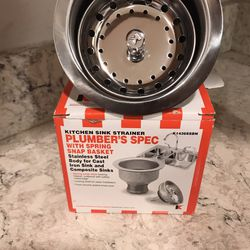 Kitchen Sink Strainer-Brand New for Sale in Old Bethpage,  NY