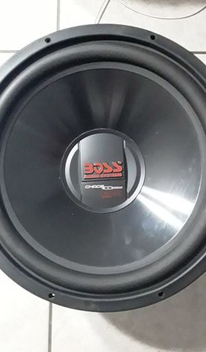 Car sound system 15' speaker tweeter amp car radio Ext270 for Sale in Fort Lauderdale, FL