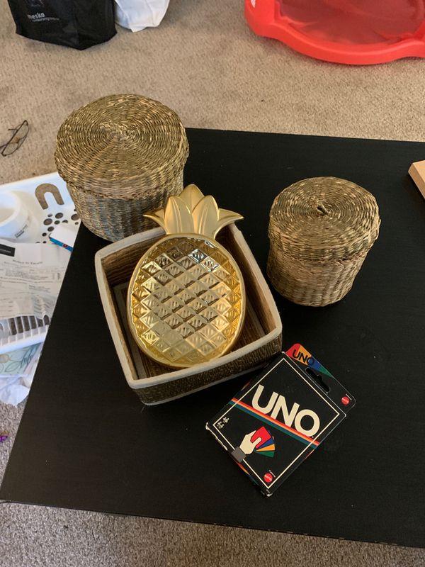 Good/ basket decorative set