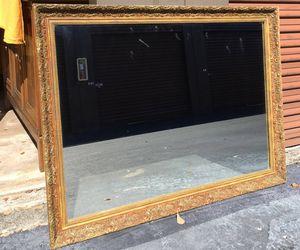 Large gold framed mirror for Sale in Fort Lauderdale, FL