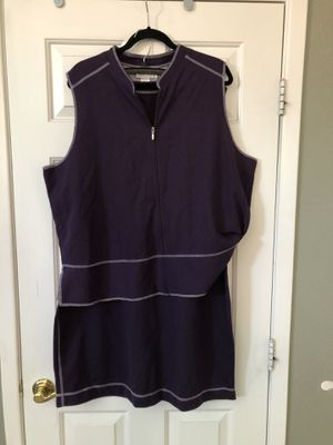 Sport Savvy Women's 2PC Sweater/Vest & Skirt Purple. Size 1X for Sale in North Las Vegas, NV
