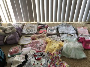 Baby girl newborn clothes for Sale in Norfolk, VA