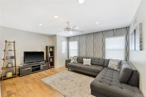 """Sectional Sofa with 46"""" Samsung LCD HDTV, Console and Side Cabinet for Sale in Brea, CA"""