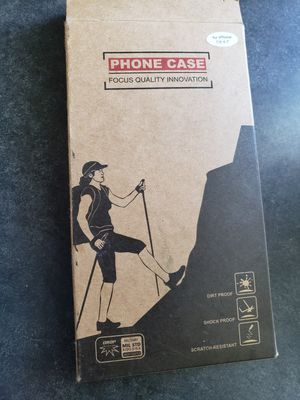 Phone case focus quality innovation for iphone 7/8 dirt proof shock proof scratch-resistant for Sale in Louisville, KY