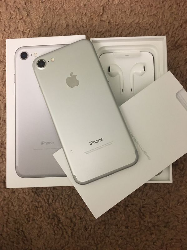iPhone 7 CARRIER AND ICLOUD UNLOCKED