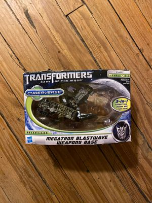 Transformers toy. Megatron blastwave weapons base. for Sale in Charlottesville, VA