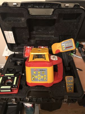 PLS HLR 505R leveling laser with tripod for Sale in Fairfield, CA