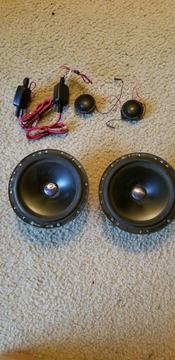 Jl audio twiters and mb quart mid range