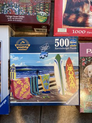 500 piece puzzle for Sale in Shrewsbury, MA