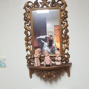 mirror and matching shelf for Sale in Bremerton, WA