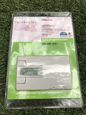 Ritetemp 5-1-1 programmable thermostat,New ,model #8022c for Sale in Marietta, GA