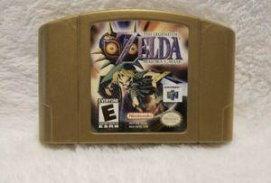 Zelda Majoras Mask N64 Nintendo for Sale in Struthers, OH