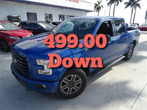 2017 FORD F150...........LOW DOWN PAYMENT for Sale in Miami, FL