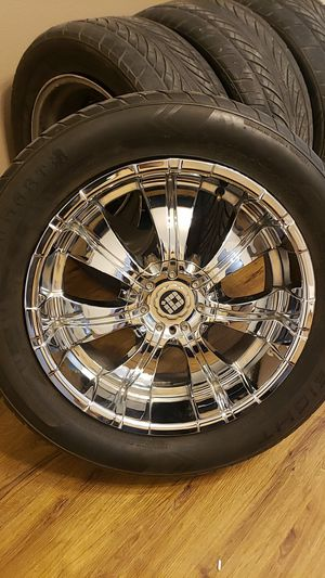 "20""chrome rims for Sale in Las Vegas, NV"