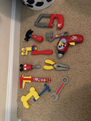 Mickey Mouse tool set for Sale in Ashburn, VA