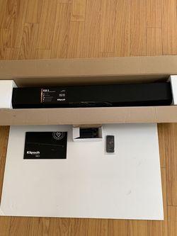 Klipsch - Reference Series 2.0-Channel Soundbar with 56-Watt Digital Amplifier - Black for Sale in Los Angeles,  CA