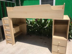 Bunk bed with desk for Sale in Austin, TX