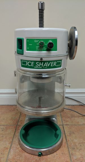 Shave ice snow cone machine Hatsuyuki for Sale in Rumson, NJ