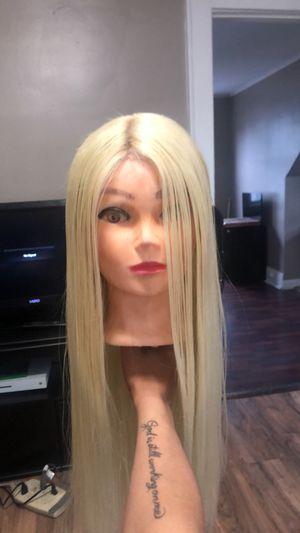 Used, Lace front platinum blonde for Sale for sale  Newark, NJ