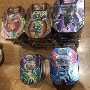 Pokemon Tins!!! for Sale in Carson, CA