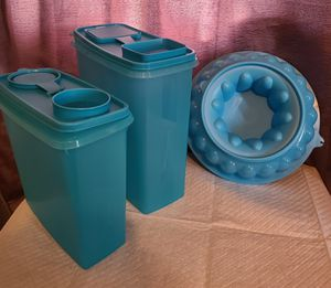 Tupperware- Mother's Day Blue Set for Sale in Rosemead, CA
