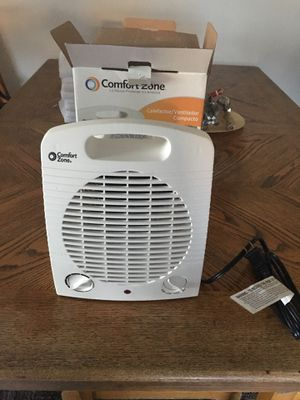 Comfort Zone Compact Heater/ Fan for Sale in San Pedro, CA