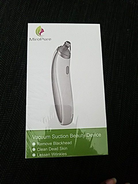 Miropure VACUUM SUCTION BEAUTY DEVICE