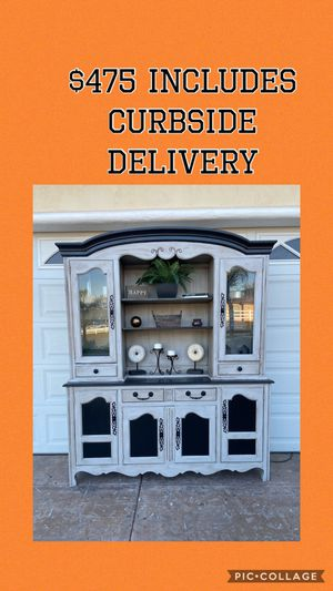 NEWLY REFINISHED CHINA BUFFET HUTCH for Sale in El Cajon, CA