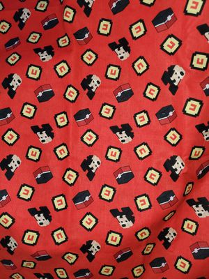 Mickey mouse crossy roads fabric for Sale in Dixon, MO