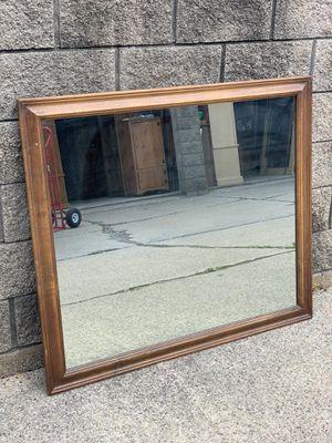solid oak mirror for Sale in Clinton Township, MI