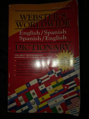 Spanish Dictionary for Sale in Phoenix, AZ