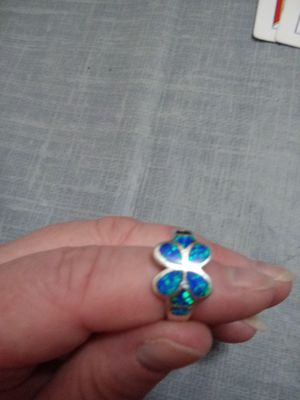 Italian opal on silver ring for Sale in Portland, OR