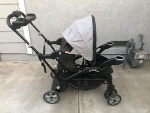 Baby Trend Sit n Stand Double Stroller for Sale in Fontana, CA